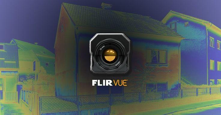 Euro Pro Group| Kamery Termowizyjne FLIR – Termowizja – Kamera termowizyjna FLIR Vue™ Pro dla dronów