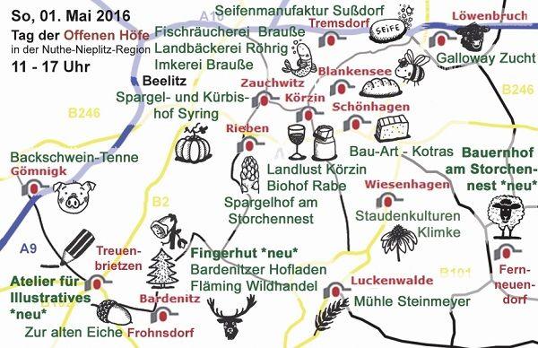 Offene Höfe Naturpark Nuthe Nieplitz