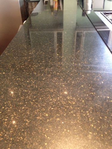Ebay Kitchen Cabinets >> Details about Quality used black granite worktop - black with brown/sparkly flecks | Diy for the ...