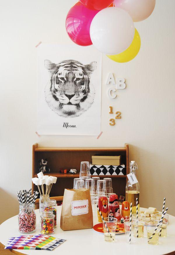 Birthday-party: Mamamekko: Our home