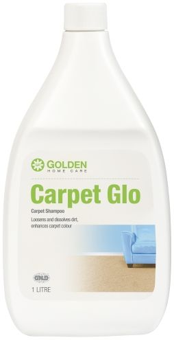 Carpet Glo gives all the excellent care needed to maximize carpet appearance and functional life.