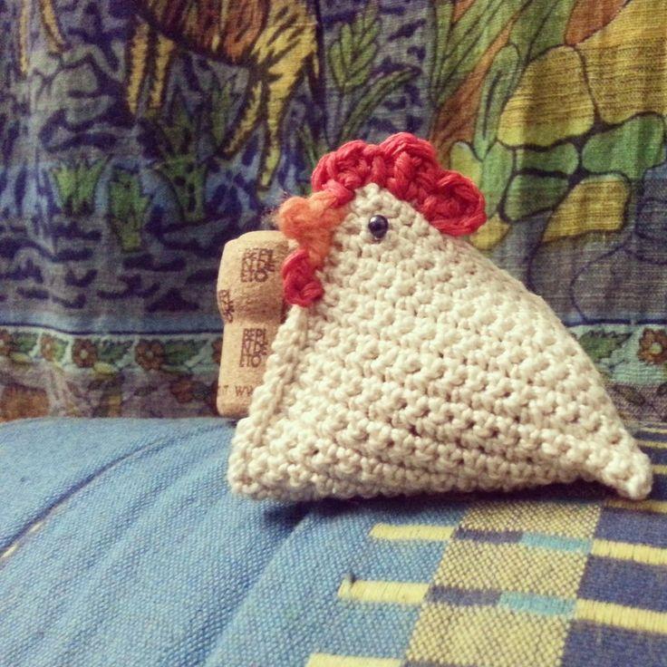 gallo in amigurumi, fatto a mano con uncinetto, by Fatto a mano Lumanufattu, 4,50 € su misshobby.com