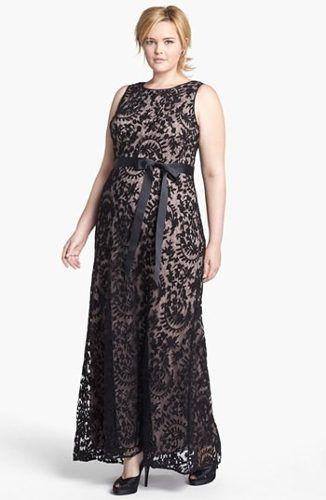 vestido renda longo festa plus size sob medida