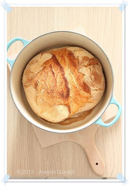 No knead bread, il pane senza impasto (finalmente!) - Muffins, cookies e altri pasticci