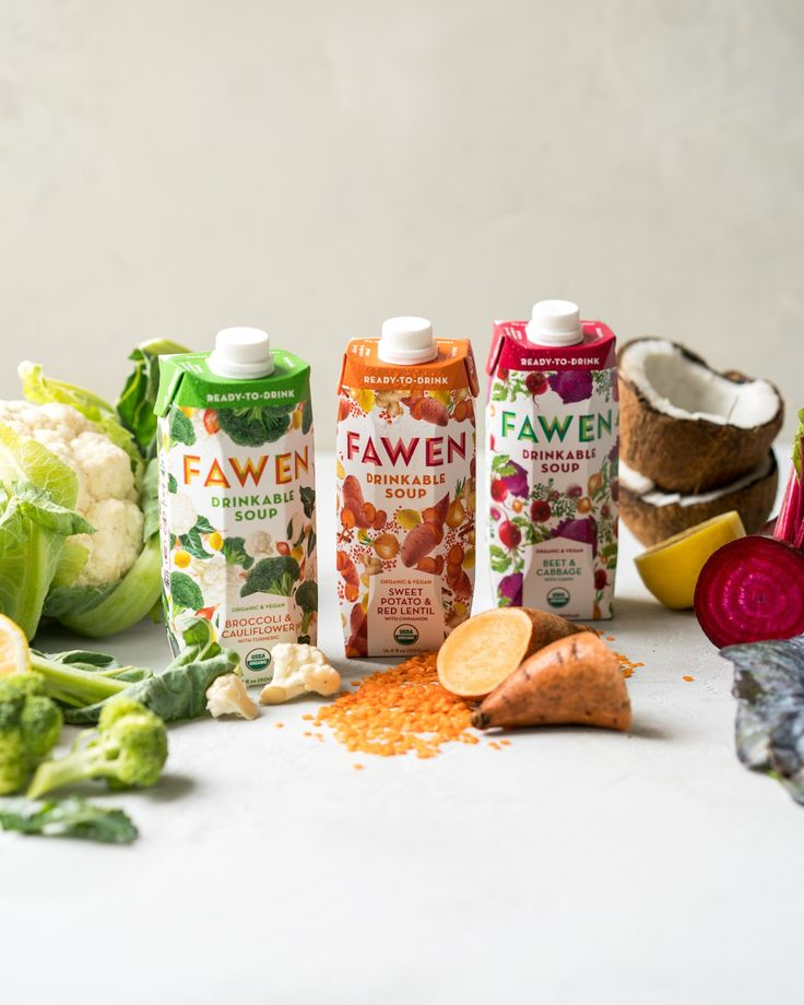 Fawen Drinkable Soup on Packaging of the World - Creative Package Design Gallery