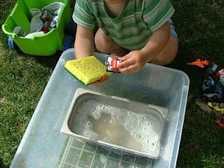 car wash: Children Plays, Idea, Toys Cars, Email Address, Preschool Hands Wash, Cars Wash, Carwash, Car Wash, Big Work