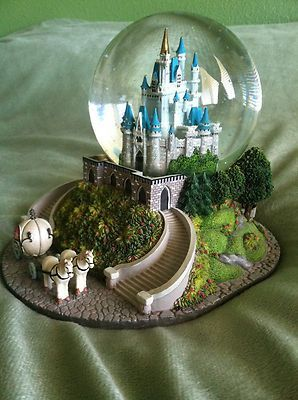 Disney Cinderella Light-up Musical Snow Globe: