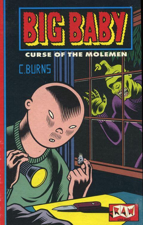 Raw Big Baby Curse Of The Molemen One Shot #5