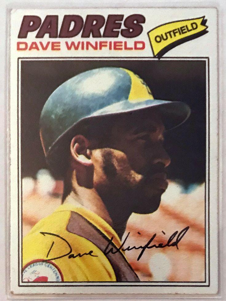 1977 topps dave winfield 390 baseball card very good