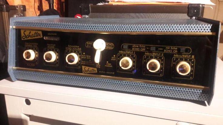 Ich verkaufe hier den Schaller echo-Sound. Er stammt wohl aus den 60er Jahren. Ich kann leider...,Schaller echo-sound in Nordrhein-Westfalen - Welver