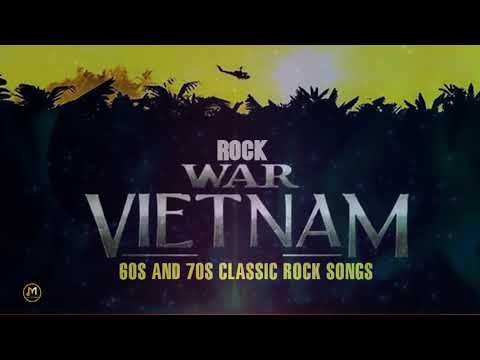 Greatest Rock N Roll Vietnam War Music - 60s and 70s Classic Rock