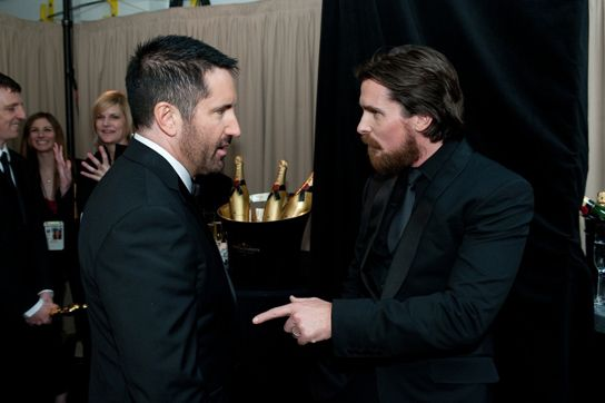 Trent Reznor and Christian Bale - Awesomeness overload