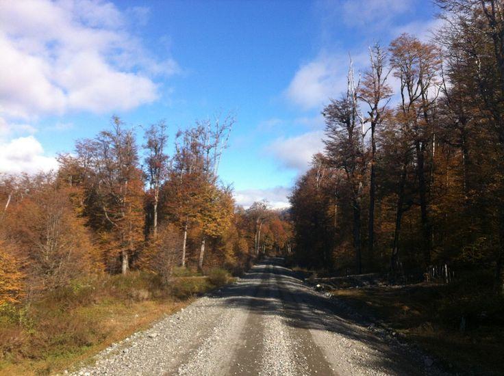 Carretera Austral em Aysen, Patagonia