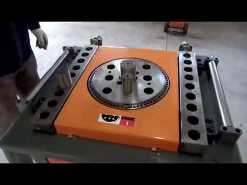 BAR BENDING MACHINE , TWO BENDS  WITH SINGLE STROKE, RING MAKING  INDIA