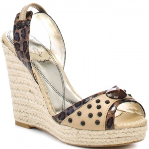 SALE - Baby Phat Addison Wedge Heels Womens Tan - $59.99 ONLY. Was $79.99 - You SAVE $20.00.