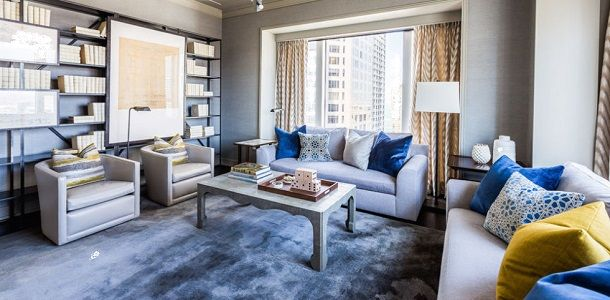 Light Blue and White Living Room Ideas