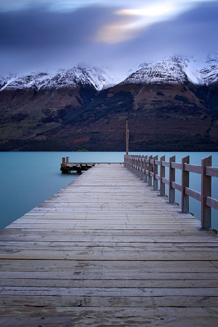Lake Wakatipu, New Zealand Noval Nugraha