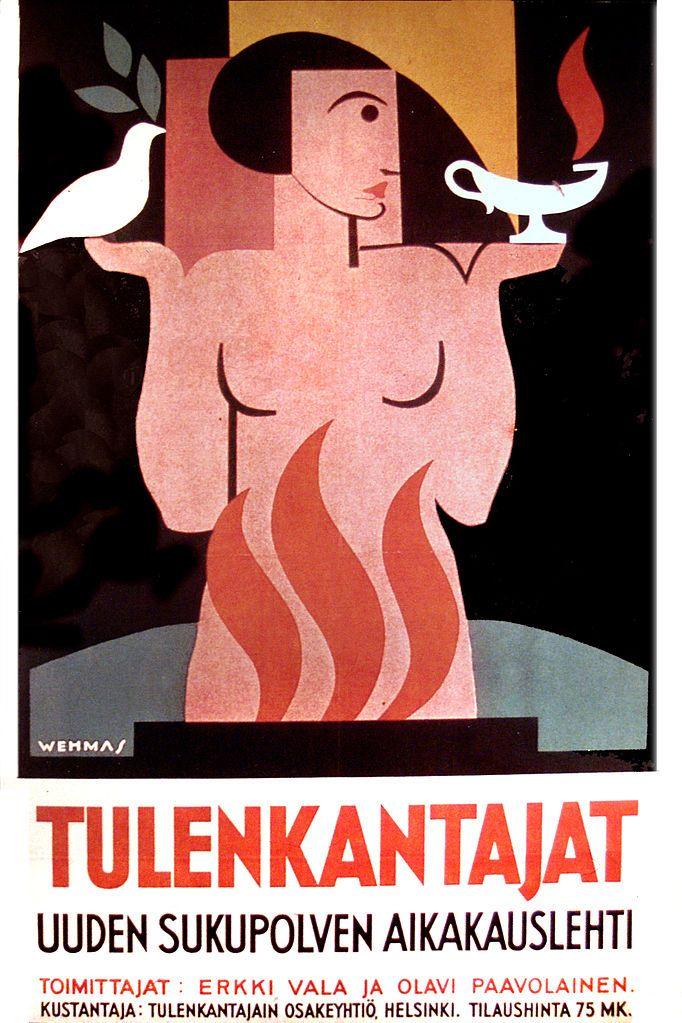Tulenkantajat-Einari Vehmas