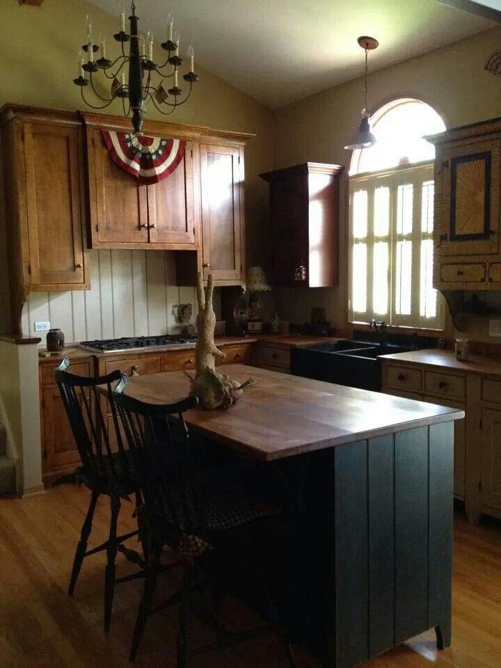 1417 best Primitive Farmhouse Kitchen . . . images on Pinterest ...