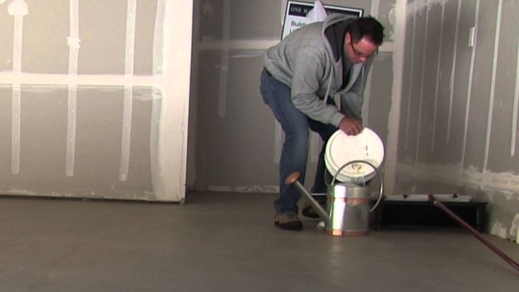 How to clean and seal concrete floors... Our new house has concrete subfloors. I'm so excited to try this!