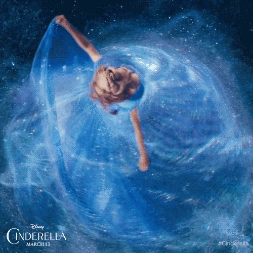 BEAUTIFUL.  Visit the new #Cinderella site to learn more about Disney's dazzling new film and experience the magic all over again