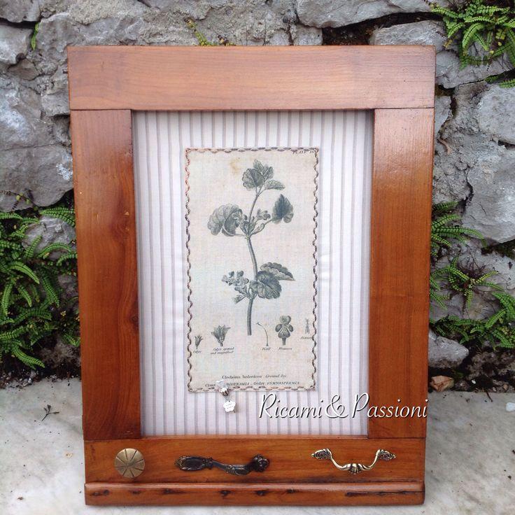 RicamiePassioni handmade riciclo herbs