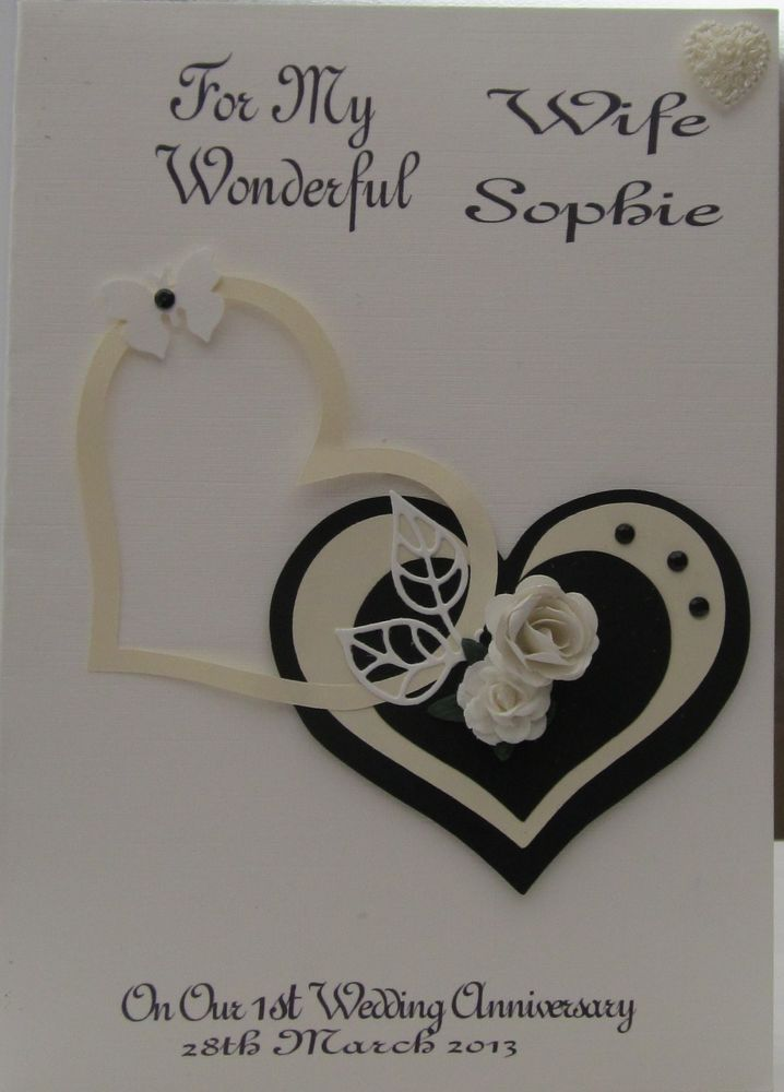 ... Anniversary cards, Handmade anniversary cards and Golden wedding