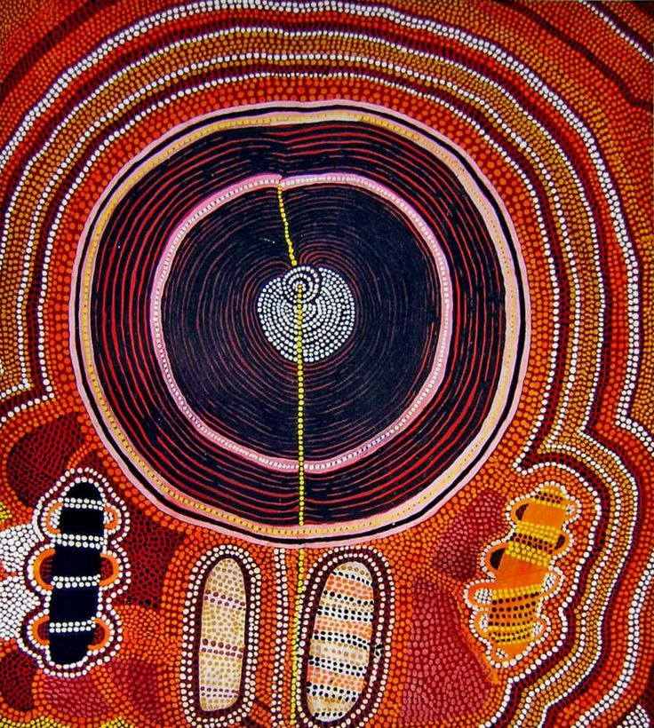 Shorty Lungkarda Tjungurrayi - Mystery Sand Mosaic 1974