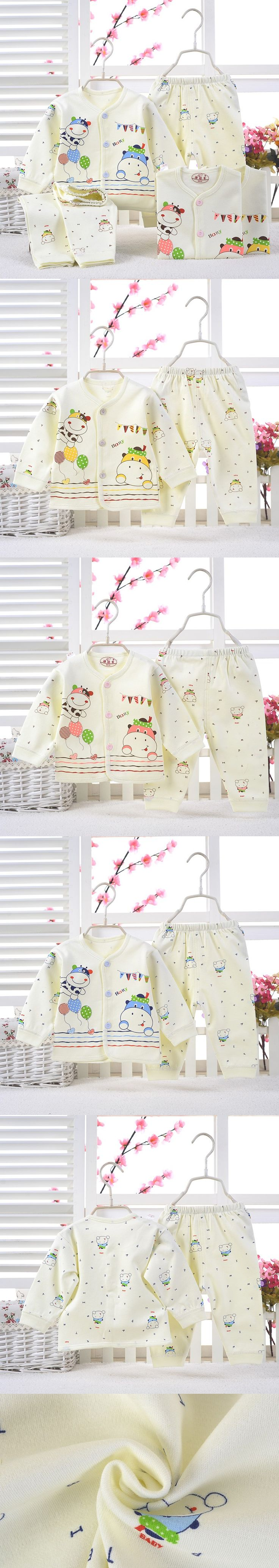 Baby clothing sets 2016 new spring long sleeve cotton baby boys sets baby girls clothes fashion underwear for newborn
