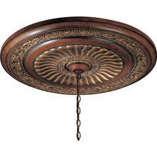 View the Minka Lavery ML 930 Transitional Ceiling Medallion from the Belcaro Collection at LightingDirect.com.