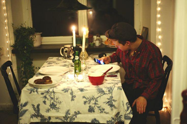 Fint litet köksbord