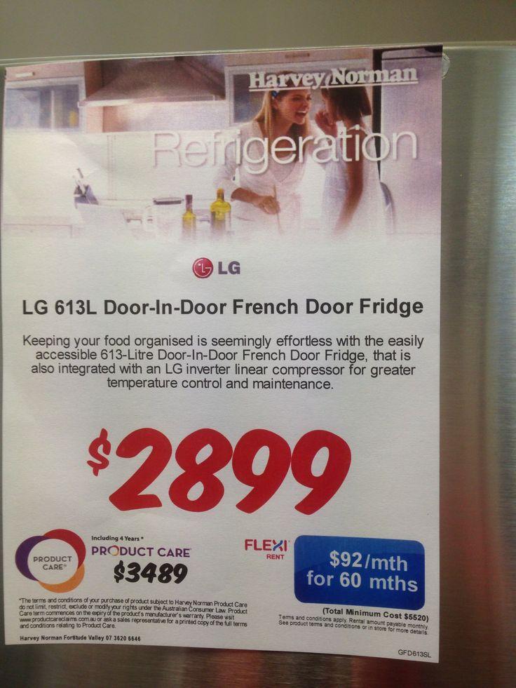 LG french door 613L