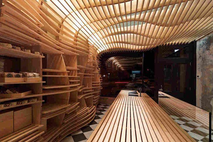 Дизайн интерьера пекарни Daniel Chirico в Мелбурне