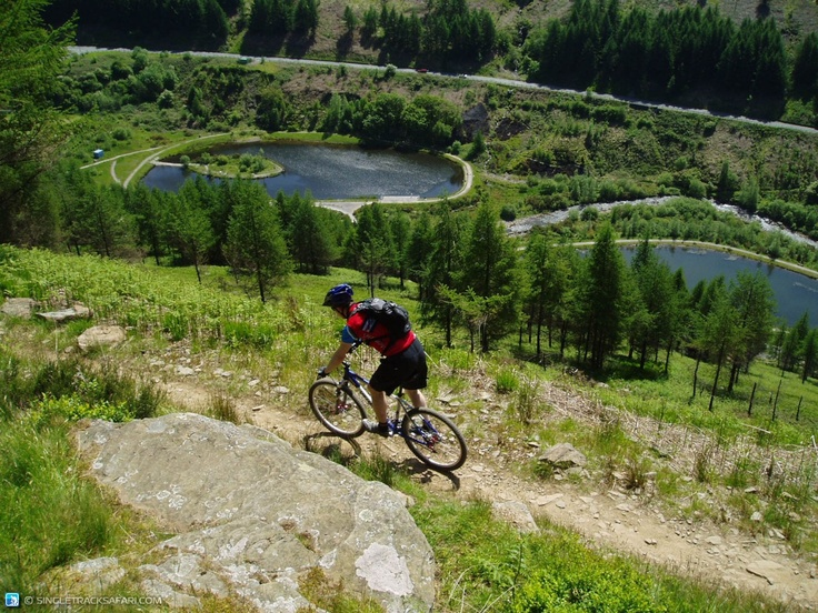 Another beautiful dusty day at Afan on Whites Level trail