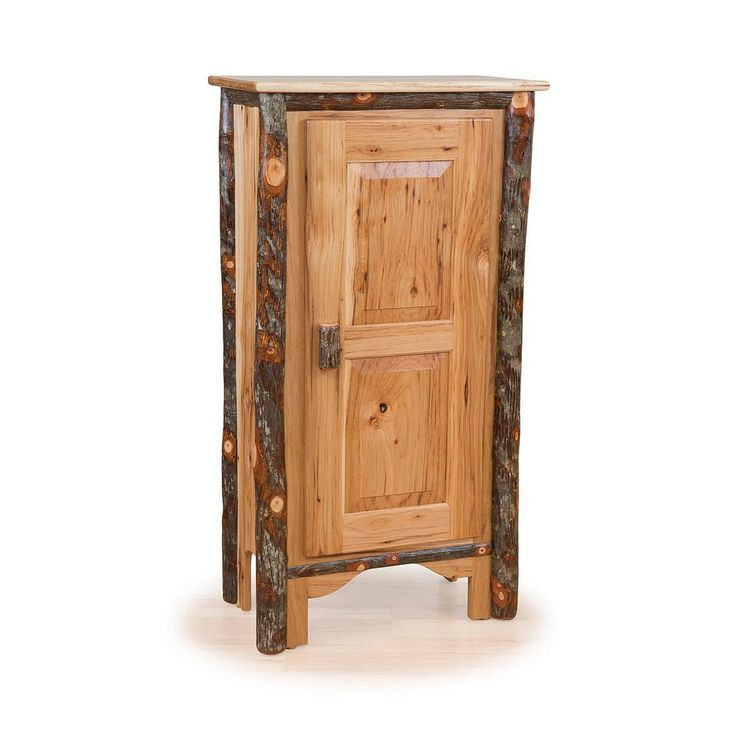 Rustic Single Pie Safe - Hickory & or All Hickory