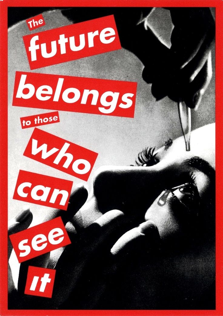 barbara kruger an art analysis Barbara kruger's work at modern art oxford: 'at best these slogans may inspire thought, analysis, debate at their worst they are hectoring banalities' photograph: courtesy sprüth magers .