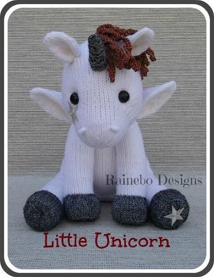 Looking for your next project? You're going to love Knit Little Unicorn by designer Rainebo.