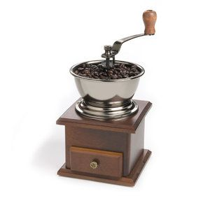 Want this!! Fox Run Craftsmen Classic Hand Crank Manual Coffee Grinder