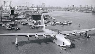 Howard Hughes' Spruce Goose made its one and only flight in 1947.  It was the largest plane ever built.
