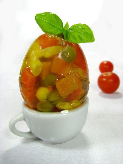 Just My Delicious: Wielkanocne Jajka z Galaretki - Dania Wielkanocne