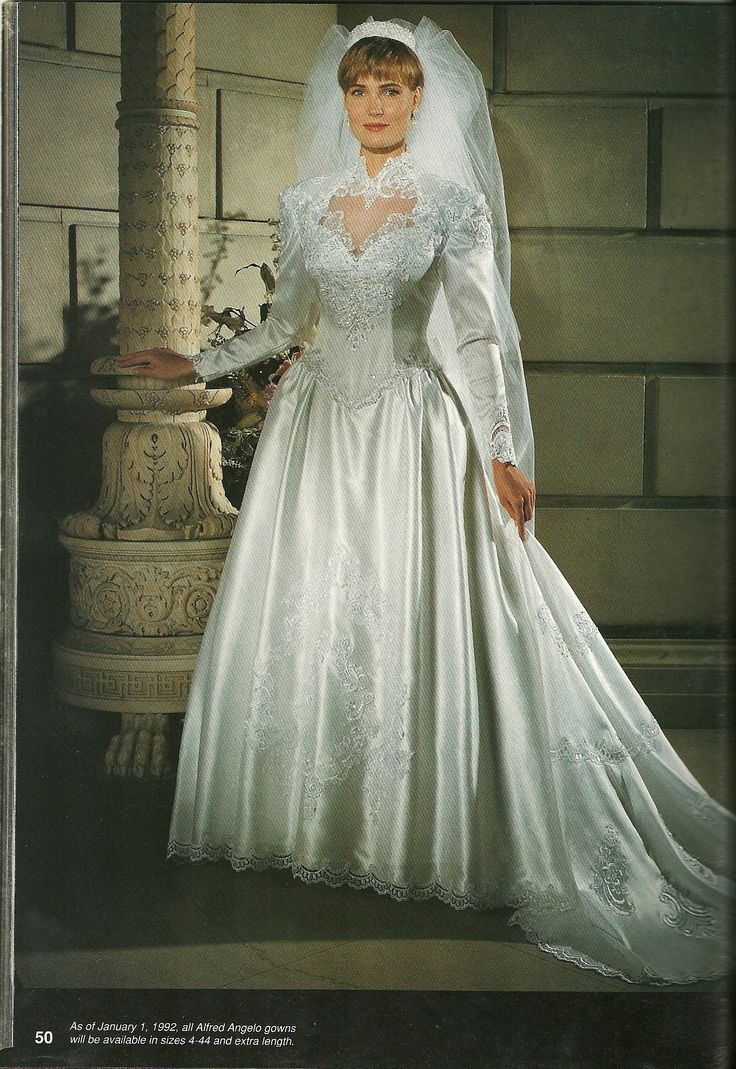 The gallery for --> Vintage Wedding Dresses 1990
