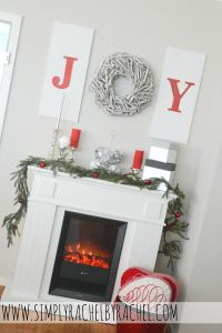 Crackled 'JOY' & with use of wreath as 'O'! Learn how to use the crackle technique!