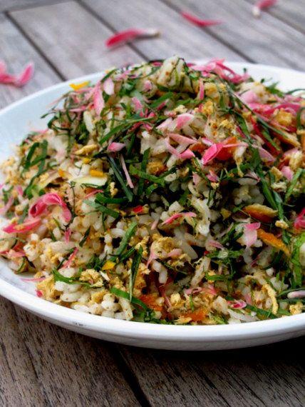 Nasi Ulam Nyonya ( Herbed Rice Nyonya )
