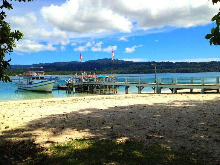 Pulau Peucang, Banten, Indonesia