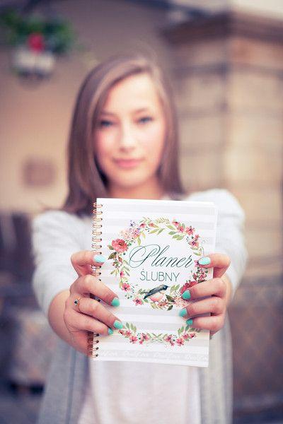 Planer Ślubny, Notes Notatnik Panny Młodej - DrukLove - Zaproszenia ślubne