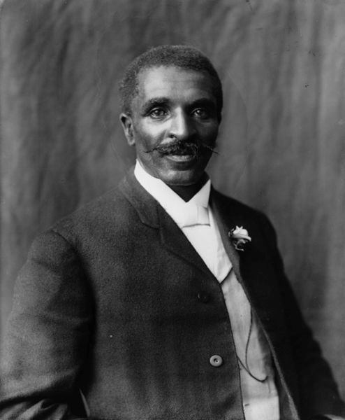 George Washington Carver.. <3 love him for two reasons! 1. Peanut Butter & 2. We share the same last name :)