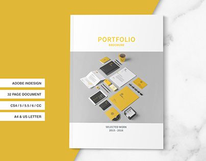 160 best portfolio template images on pinterest brochure indesign portfolio brochure by tujuhbenua on pronofoot35fo Image collections