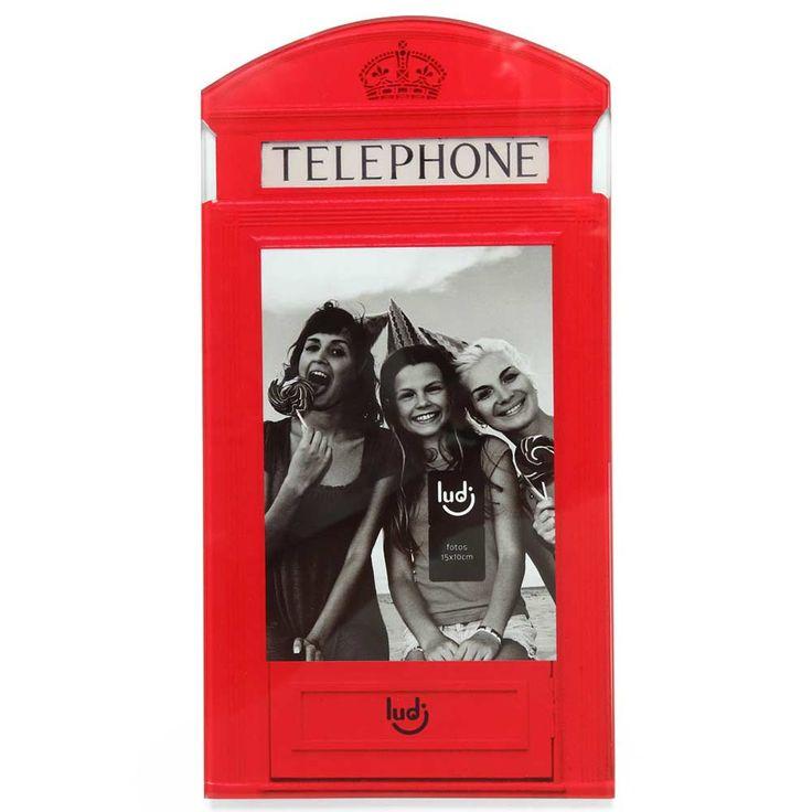 Porta Retrato Cabine de Telefone :: Hmmm