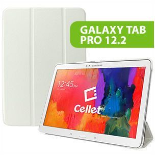 Cellet Slim Shell Case Cover for Samsung Galaxy Tab Pro 12.2 -White
