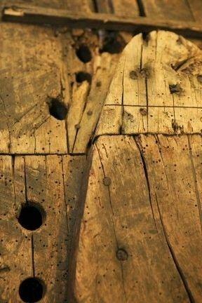 Antique Snowshoe Makers Mold, Form